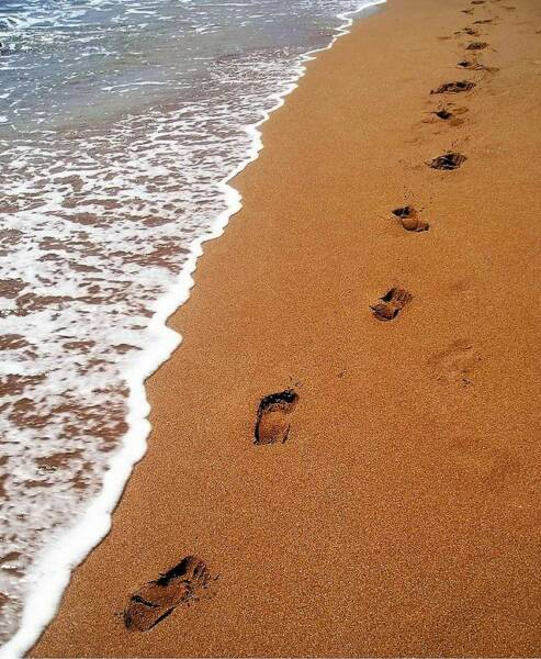 Footprints+in+the+sand+poem+pictures